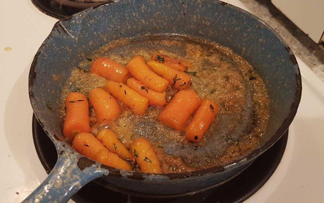 Glazed Thyme Carrots